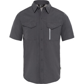 The North Face Sequoia S/S Shirt Men asphalt grey/mid grey